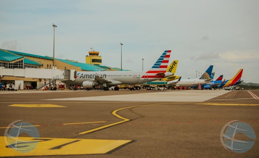 Gemiddeld 7 vluchten per dag vanaf Aruba in september