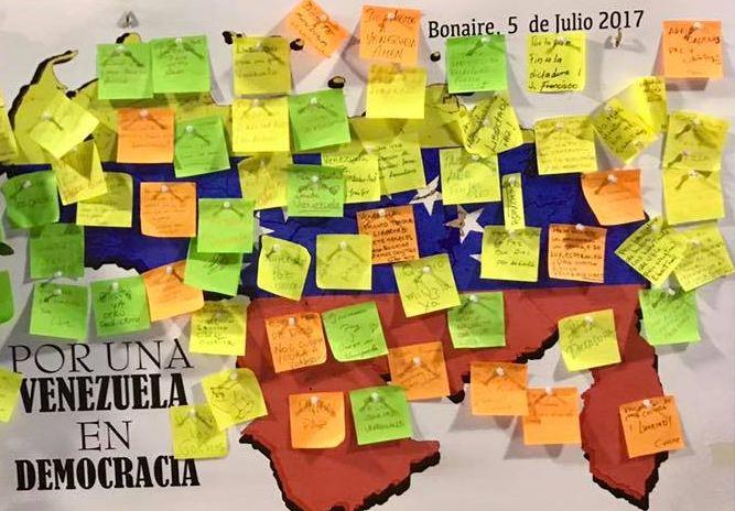 Ruim zeven miljoen kiezers doen mee aan referendum in Venezuela