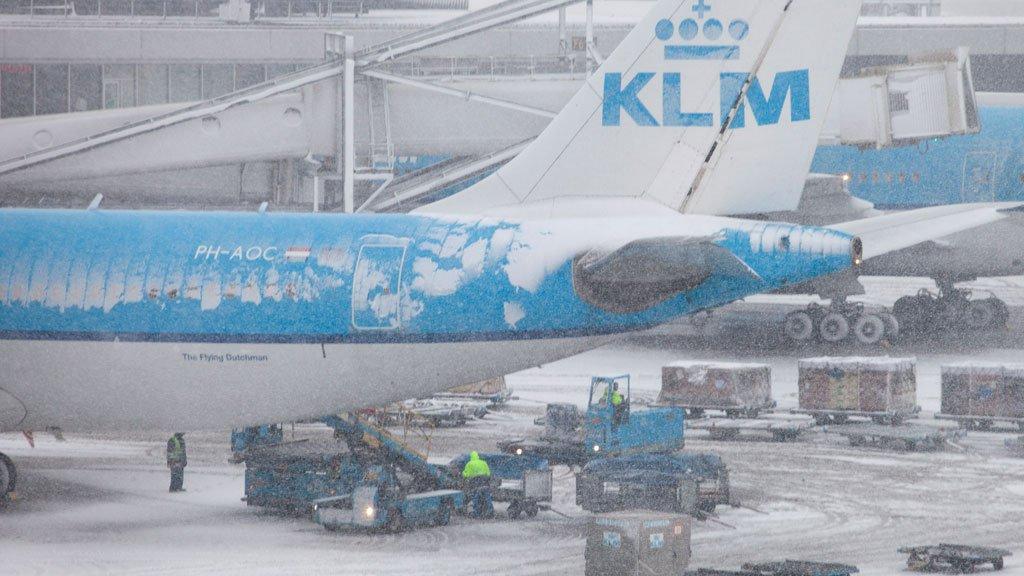 KLM vlucht Aruba nog niet vertrokken