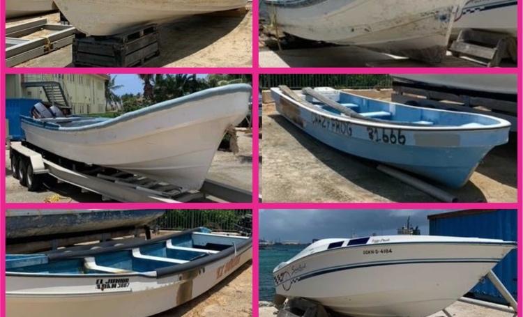 OM Aruba start verkoop in beslag genomen boten
