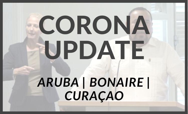 Actuele coronacases op Bonaire, Aruba en Curaçao