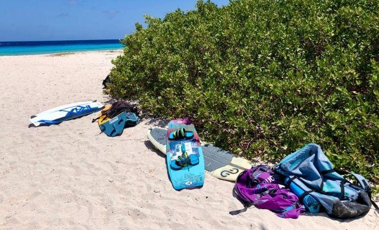 Kitesurfen op Aruba
