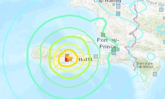 Haïti getroffen door zware aardbeving