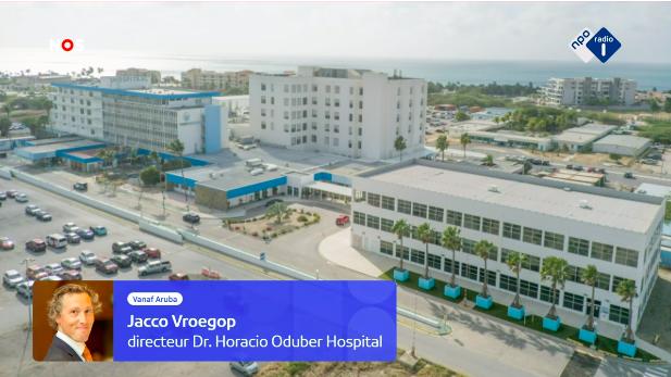 Aruba krijgt meer ziekenhuispersoneel uit Nederland