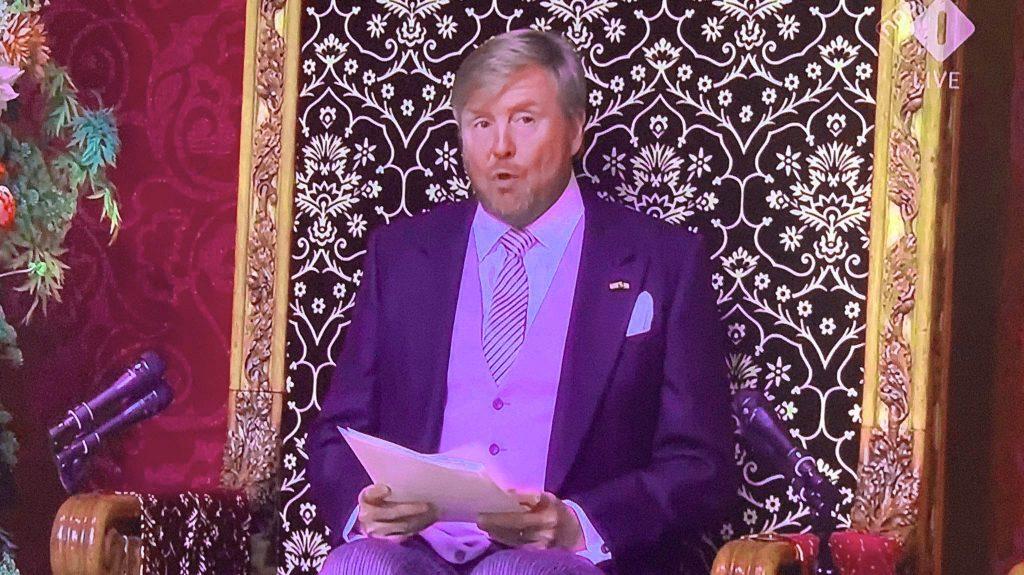 Koning pleit voor eensgezindheid in herstel eilandeconomieën